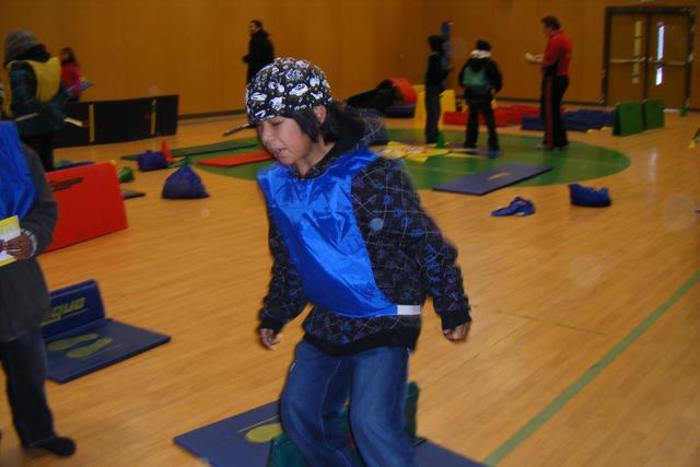 Speed bouncing in Pikangikum