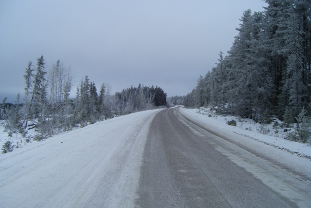 Gravel road north of Red Lake